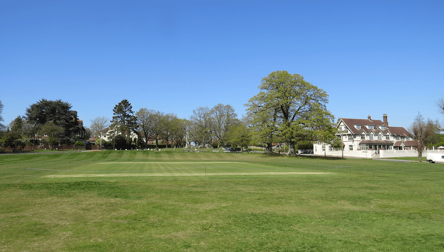 Royal Tunbridge Wells cricket club building